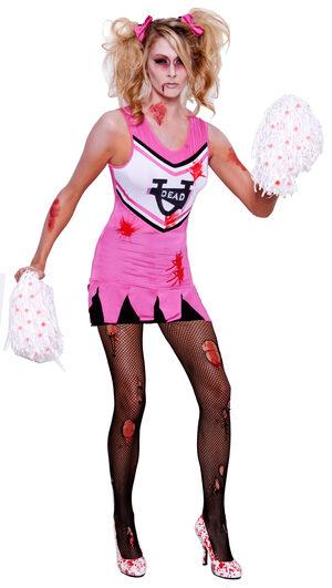 Dead U Zombie Cheerleader Adult Costume