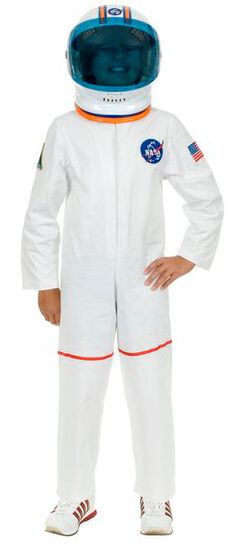 Boys Astronaut Space Suit Kids Costume