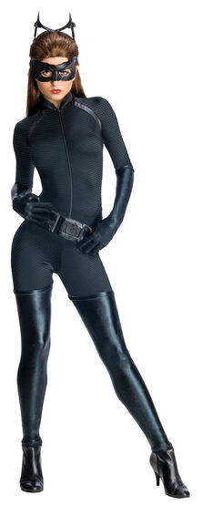 Sexy Dark Knight Rises Deluxe Catwoman Costume