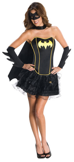 Sexy Batgirl Corset Tutu Costume