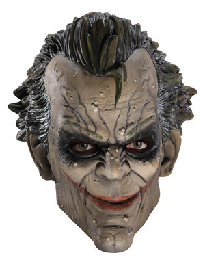 Adult Arkham City Joker Mask Mask