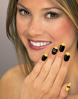 Batgirl Nail Art Strips