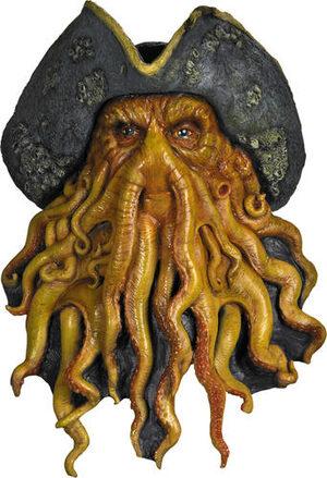 Davy Jones Deluxe Latex Pirate Mask