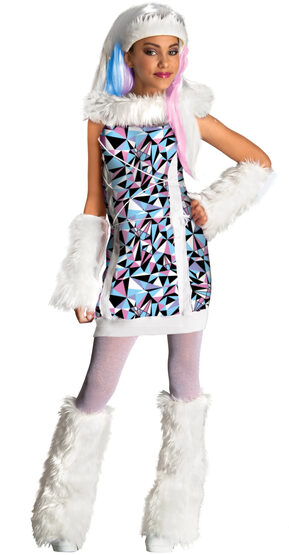 Abbey Bominable Monster High Kids Costume