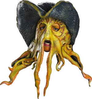 Davy Jones Latex Pirate Mask