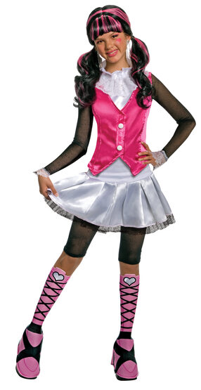 Deluxe Draculaura Monster High Kids Costume