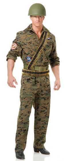 Seal Team Six Military Adult Costume
