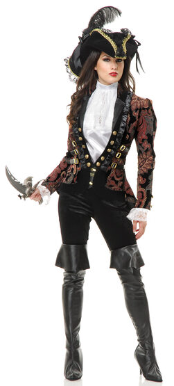 Sultry Female Pirate Lady Adult Costume
