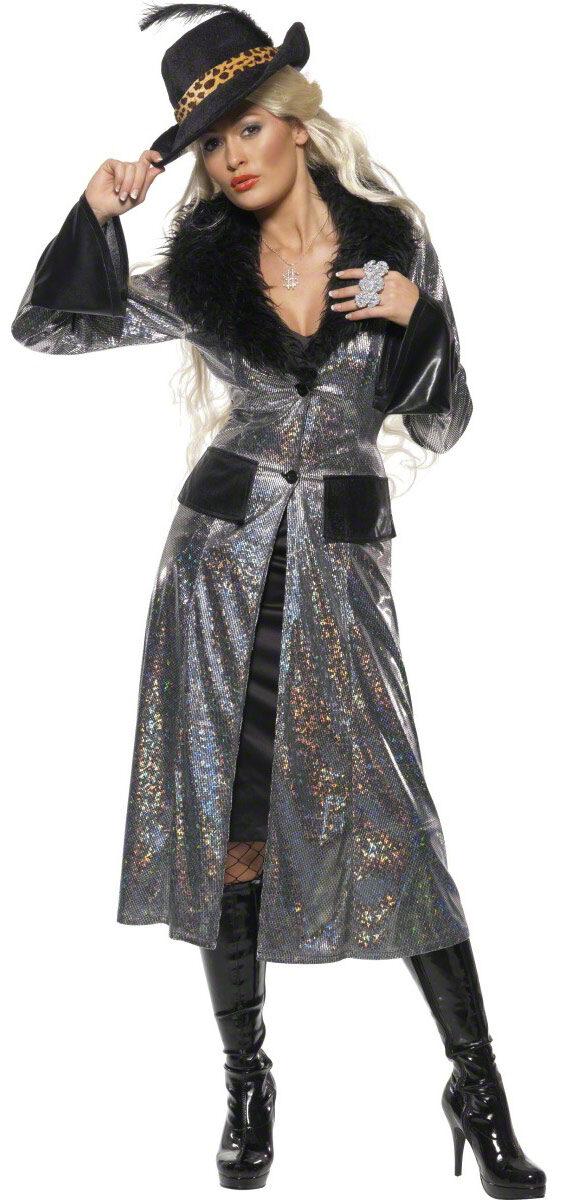 Female Pimp Coat Adult Costume  sc 1 st  Mr. Costumes & Female Pimp Coat Adult Costume - Mr. Costumes
