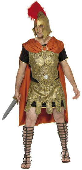 Roman Gladiator Warrior Adult Costume