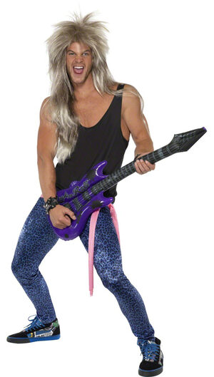 Bon Rocker 80s Adult Costume
