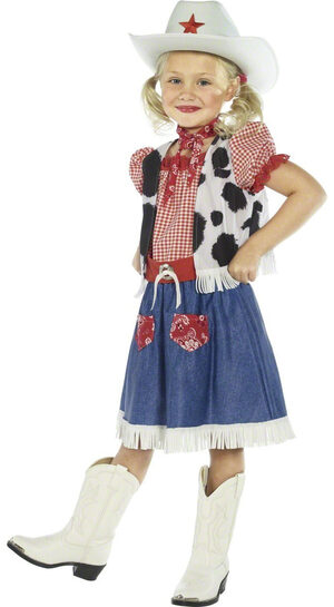 Girls Sweetie Cowgirl Kids Costume