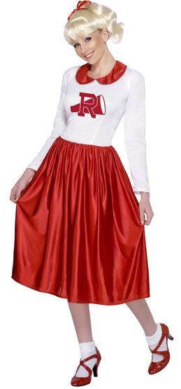 Cheerleader Sandy Grease Adult Costume