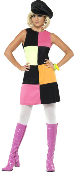 Retro Groovy 60s Adult Costume