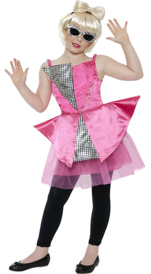 Mini Dance Diva Rockstar Kids Costume