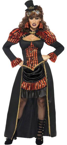 Steampunk Victorian Vampiress Adult Costume
