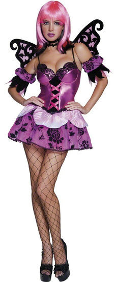 Sexy Tainted Fallen Fairy Costume
