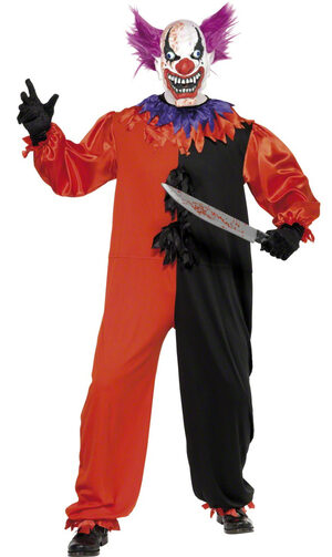 cirque sinister scary clown costume mr costumes