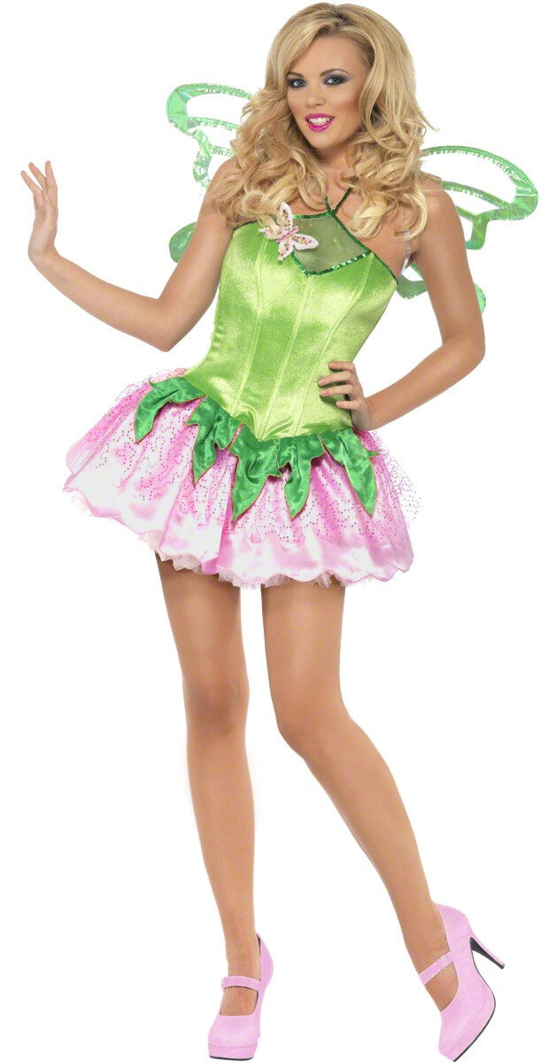 Sexy Green Garden Fairy Costume  sc 1 st  Mr. Costumes : garden fairy halloween costume  - Germanpascual.Com