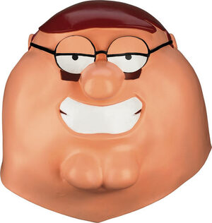 Adult Peter Griffin Family Guy Funny Mask