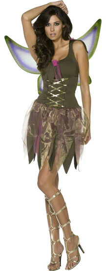 Sexy Woodland Fairy Fever Costume