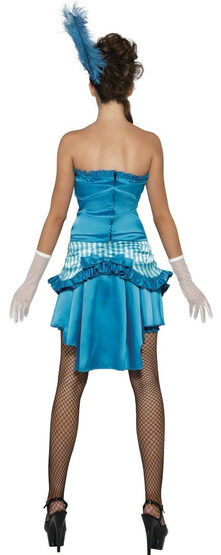 Sexy Lady Elegance Saloon Girl Costume