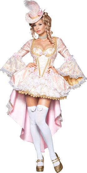 Sexy Marie Antoinette Queen of Versailles Costume
