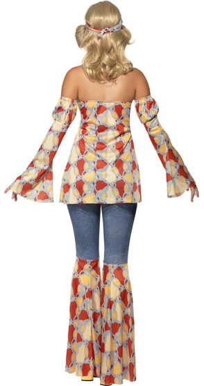 Vintage 70s Hippie Adult Costume