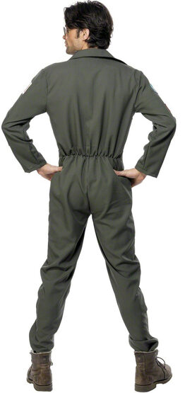 Top Gun Pilot Jumpsuit Adult Costume