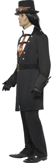 Mens Steampunk Victorian Vampire Adult Costume