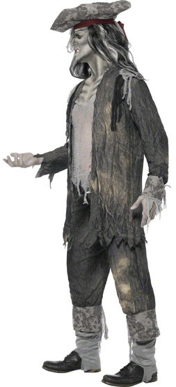 Mens Ghost Ship Pirate Adult Costume