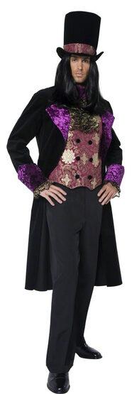 Gothic Vampire Count Adult Costume