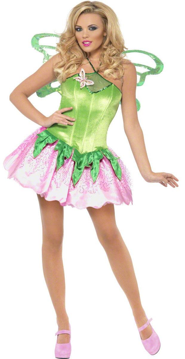 Sexy Green Garden Fairy Costume  sc 1 st  Mr. Costumes & Sexy Green Garden Fairy Costume - Mr. Costumes