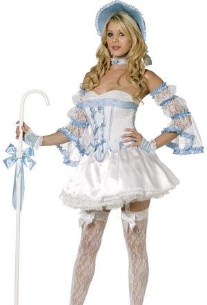 Sexy Lil Bo Peep Fairytale Costume