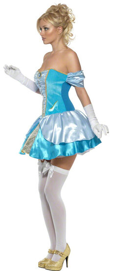 Sexy Glass Slipper Princess Cinderella Costume