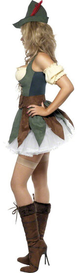 Sexy Feisty Outlaw Robin Hood Costume