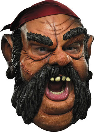 Adult Pirate Costume Mask