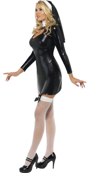 Sexy Sister Bliss Nun Costume