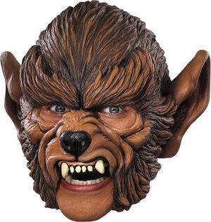 Adult Werewolf Vinyl Chin Strap Mask