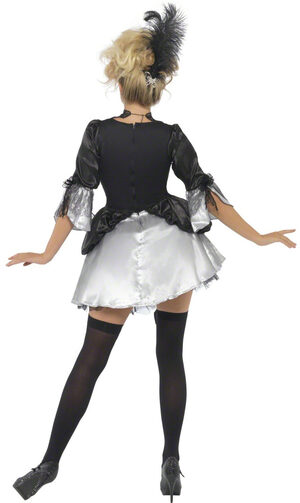 Sexy French Baroque Vampire Costume