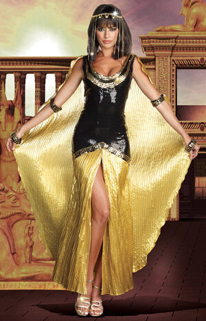 Sexy Egyptian Princess Cleopatra Costume
