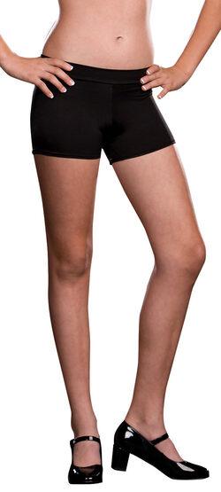 Girls Black Roxie Shorts