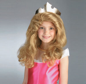 Kids Disney Princess Aurora Wig