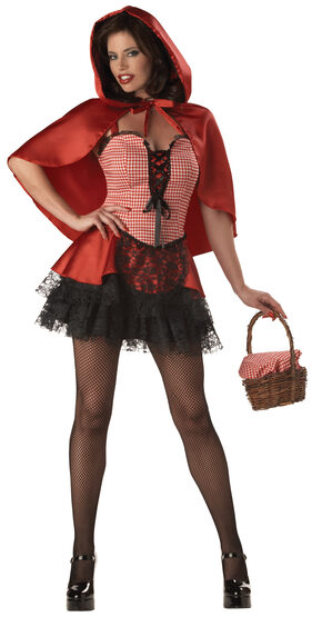 Sexy Red Hot Riding Hood Costume