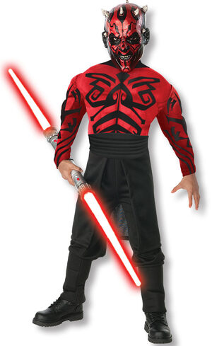 Muscle Chest Darth Maul Star Wars Kids Costume