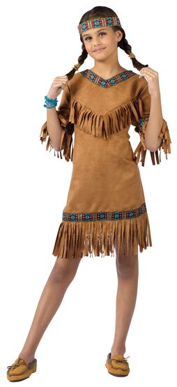 Kids Indian Girl Costume