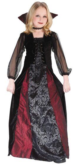 Kids Maiden Gothic Vampire Costume