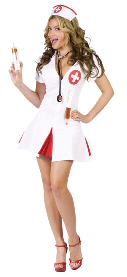 Flirty Sexy Nurse Costume