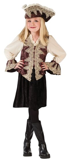 Kids Royal Pirate Lady Costume