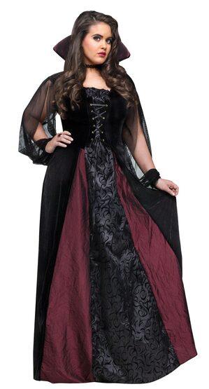 93fd11c07ee Gothic Vampire Maiden Plus Size Costume - Mr. Costumes